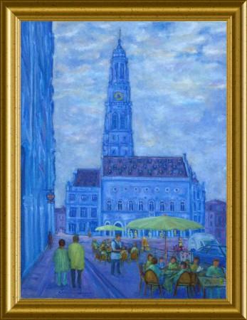 Arras le beffroi une oeuvre d 39 art par claude chapoix for Artiste peintre arras